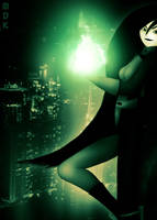 Shego - Burning Temptress by OrbitalWings