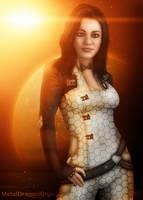 Mass Effect 2 - Miranda Lawson by OrbitalWings