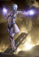 Lair of the Shadow Broker by OrbitalWings
