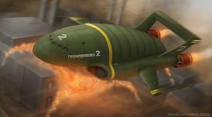 Thunderbird 2 by OrbitalWings