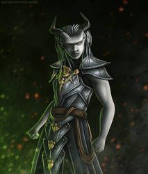 Dragon Age - 'The Inquisitor' by OrbitalWings