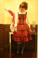 Punk-lolita dress by simakai