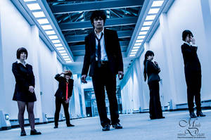Psycho-Pass 11 - Taking positions by simakai