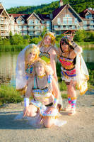 Arabian Love Live 5 - Pose and smile for the photo by simakai