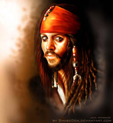 jack sparrow by ShabzDen