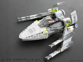 A-10 Mentu-Kal starfighter by Scharnvirk