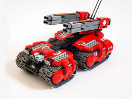 G-ARM Gauss Tank by Scharnvirk