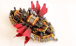 Ogre juggernaut by Scharnvirk