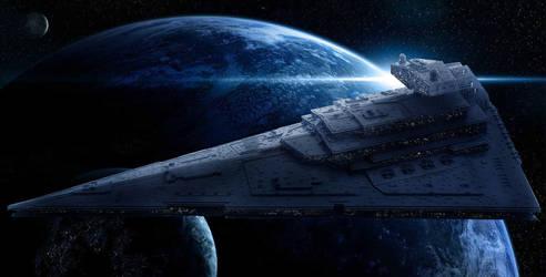 LEGO Imperial Star Destroyer Chimaera by Scharnvirk