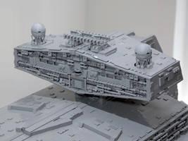 LEGO Imperial Star Destroyer Chimaera Bridge Tower by Scharnvirk
