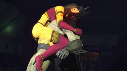 Milena versus Batman. by nedved956