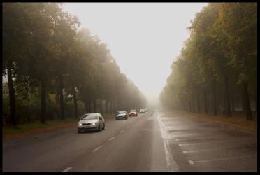 Fog in Lodz - 1 by ElegantAndrogyne