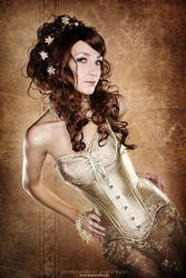 Overbust Corset Aurum by Corset-Fetish-Club