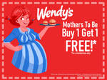 Wendy's pregnant coupon by PreggoSteggo