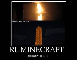 RL MINECRAFT by SandraMJ