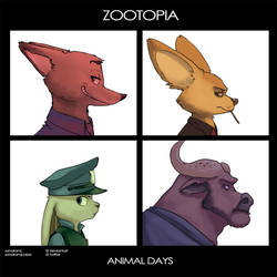 Zootopia: Animal Days by SandraMJ