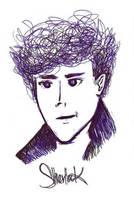 Sherlock by fifiefofumlol