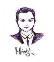 Moriarty by fifiefofumlol