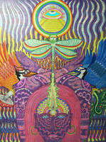 Third Eyes and Dragonflies by Art-of-the-Shaman