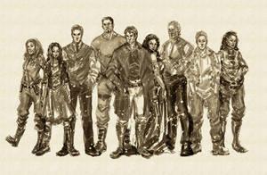 Firefly Crew by kathrynlayno