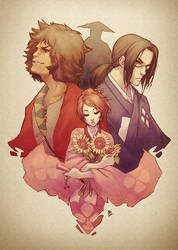 Samurai Champloo by kathrynlayno