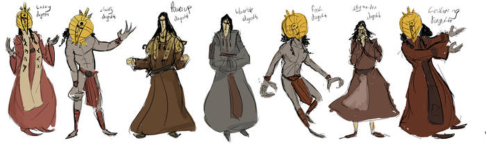 Dagoths Of The World by Lilly181