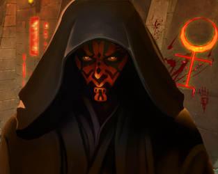 Sith Lord - Darth Maul by ButterflyAlchemy