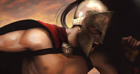 Spartan by ButterflyAlchemy