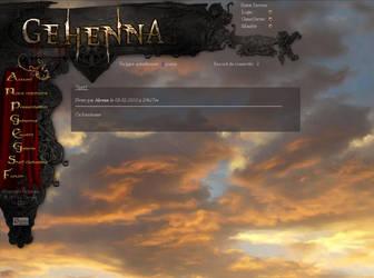 Gehenna Website by ButterflyAlchemy
