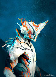 Excalibur - Warframe by ChristianKlement