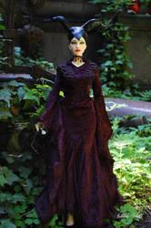Maleficent ( carina iplehouse, bjd doll ) by Ashley2020