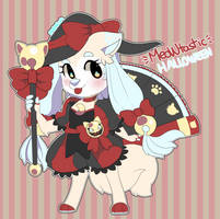 Foxlore Auction - Meowtastic Halloween! - CLOSED by Pararipi