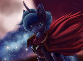 Lady Luna, Mistress of the Moon by FoughtDragon01