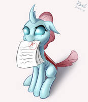 Ocellus, aka. The One That Studies by FoughtDragon01