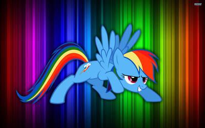 Rainbow Dash Wallpaper by pikatheking025