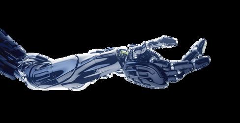 robotic hand by DIGITALWIDERESOURCE
