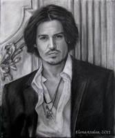 Johnny Depp by Azalea2010
