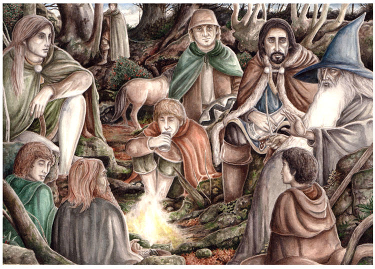 The Fellowship of the Ring by peet