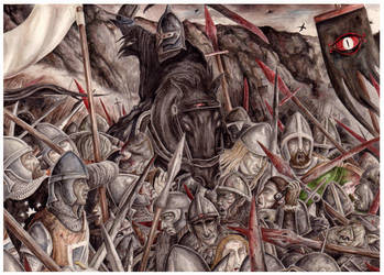 The Battle of the Morannon by peet