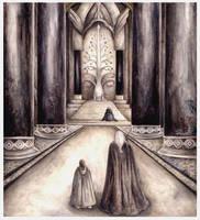 The Tower Hall of Denethor by peet