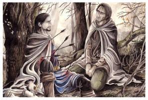 The Death of Boromir by peet