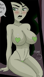 Shego comic page 3 by Meegol