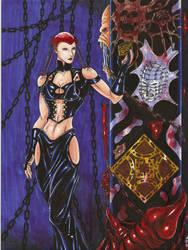 Angelique by BlackCoatl