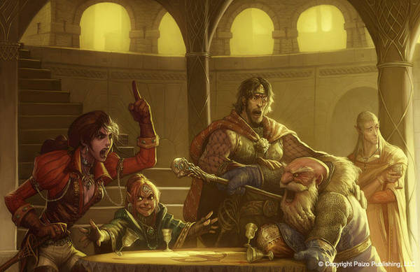 Argument in the Council by Concept-Art-House