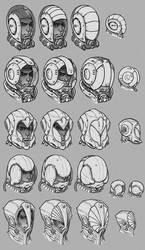 Space Helmet Prototype #1 by Concept-Art-House