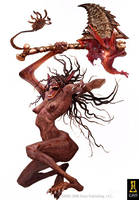 Mother Morlock by Concept-Art-House
