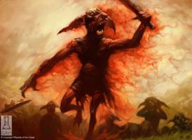 Goblin War Paint by Concept-Art-House