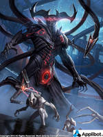 Hades, Ruler of the Planet of Darkness Advanced by Concept-Art-House