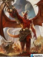 Demon King Regular by Concept-Art-House
