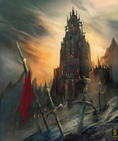 Shadow Castle by Concept-Art-House